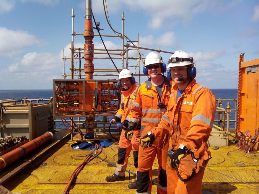 Altus offshore team